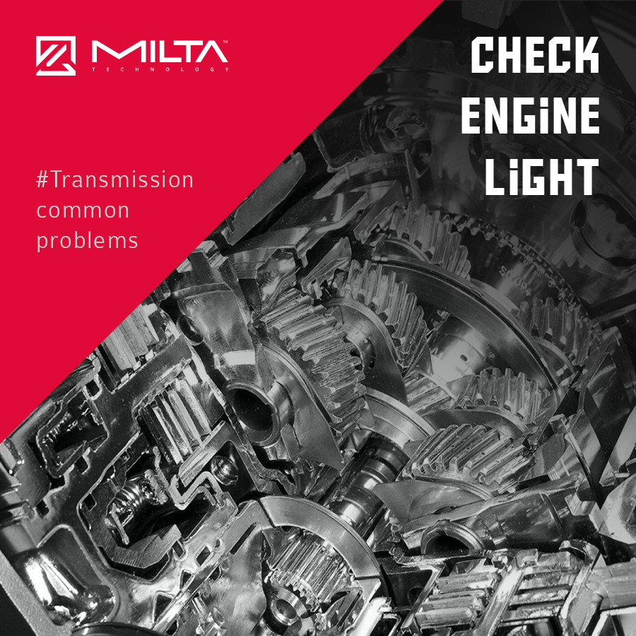 Common issue in automatic gearboxes : Check engine light MILTA Technology