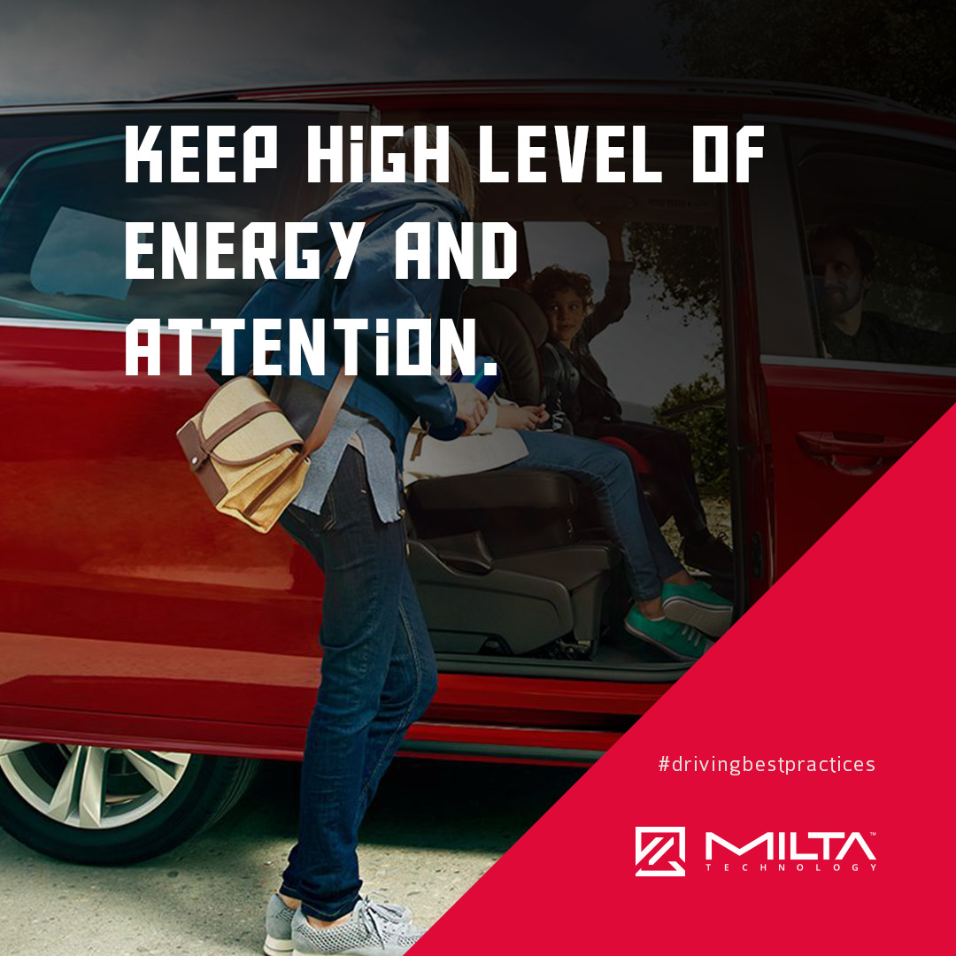 Keep high level of energy and attention MILTA Technology