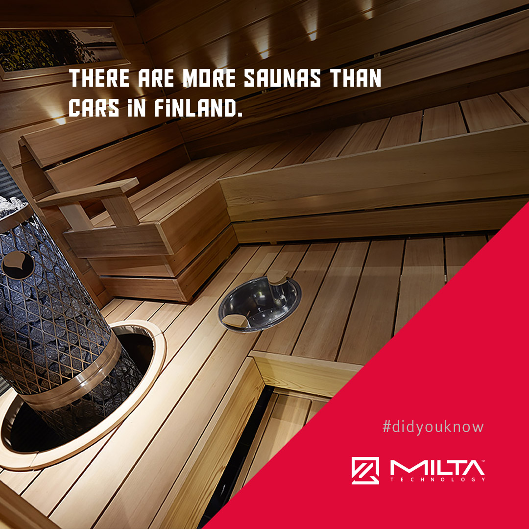 There are more saunas than cars in Finland MILTA Technology