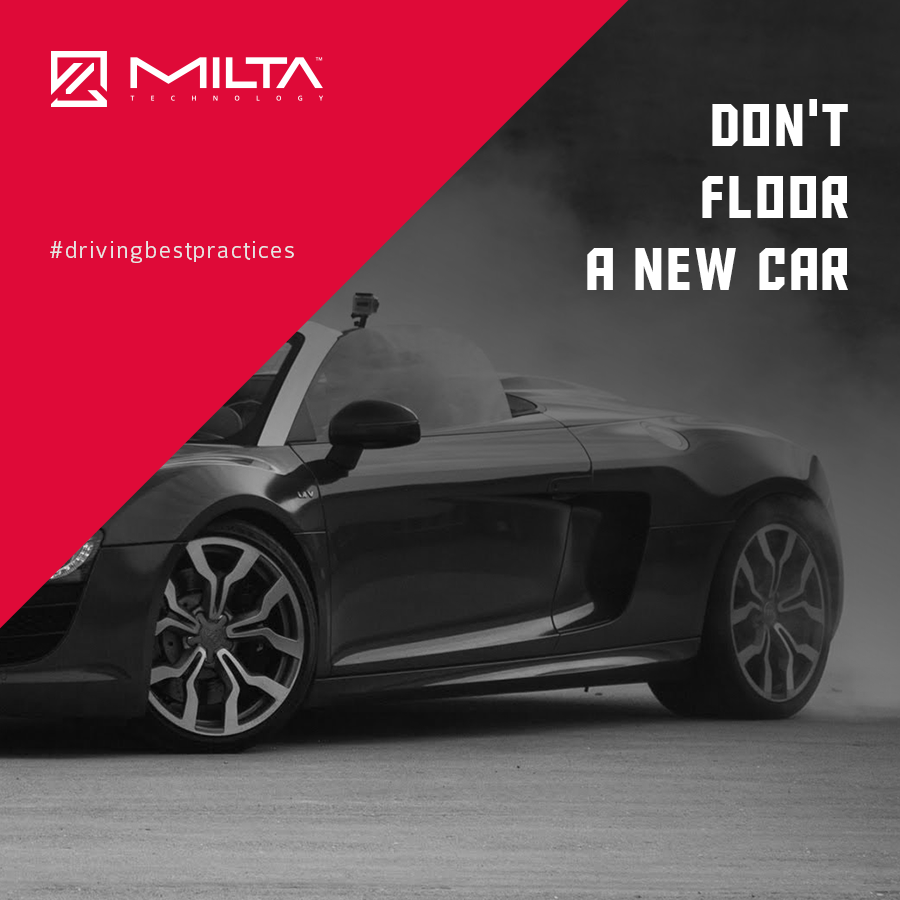 Don't floor a new car MILTA Technology