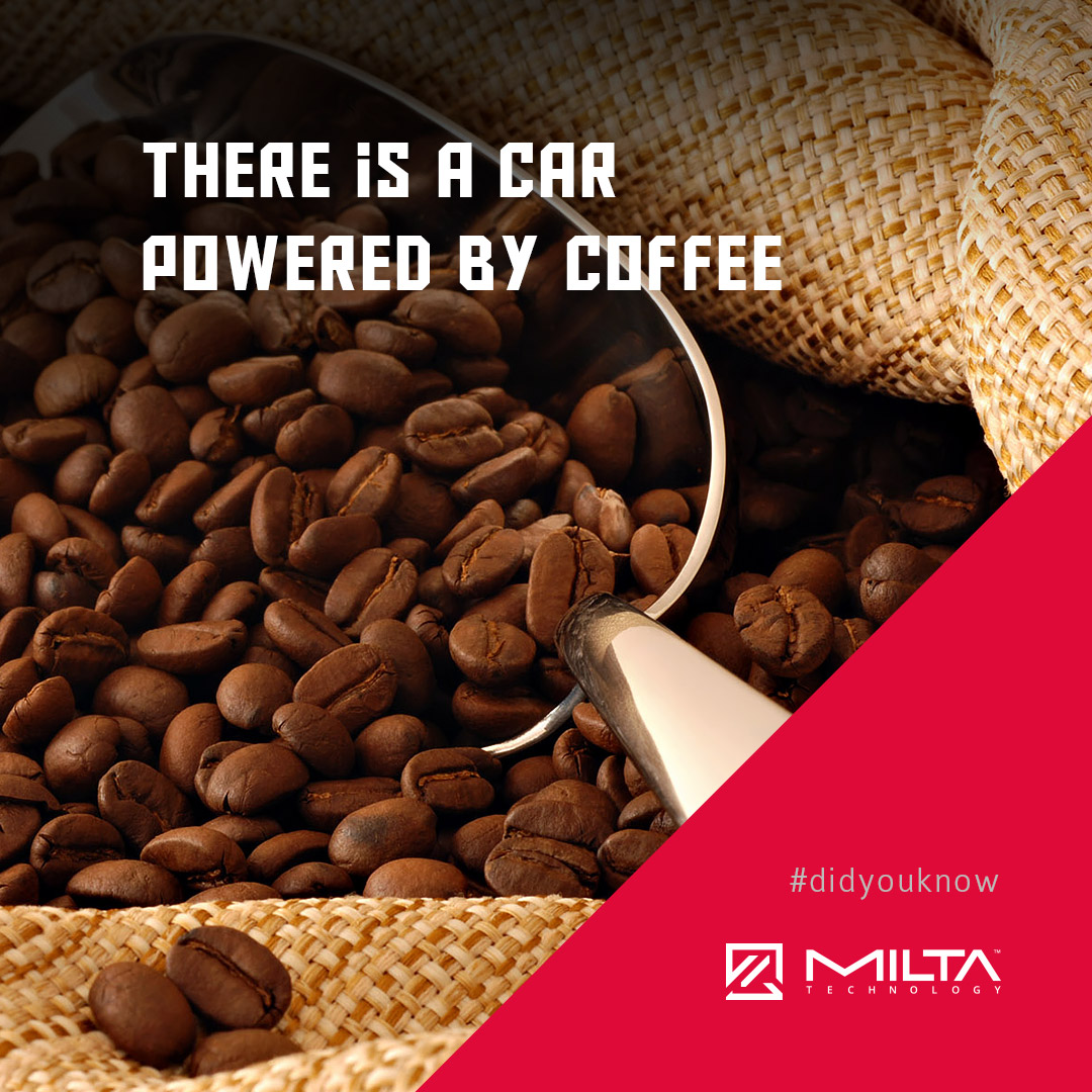 There's a car powered by coffee MILTA Technology