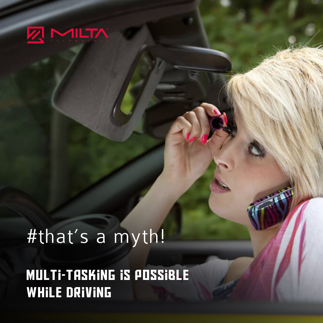 Multitasking is possible while driving MILTA Technology