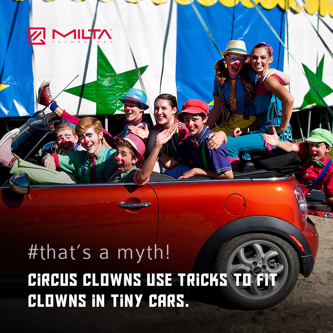 Circus clowns use tricks to fit clowns in tiny cars MILTA Technology