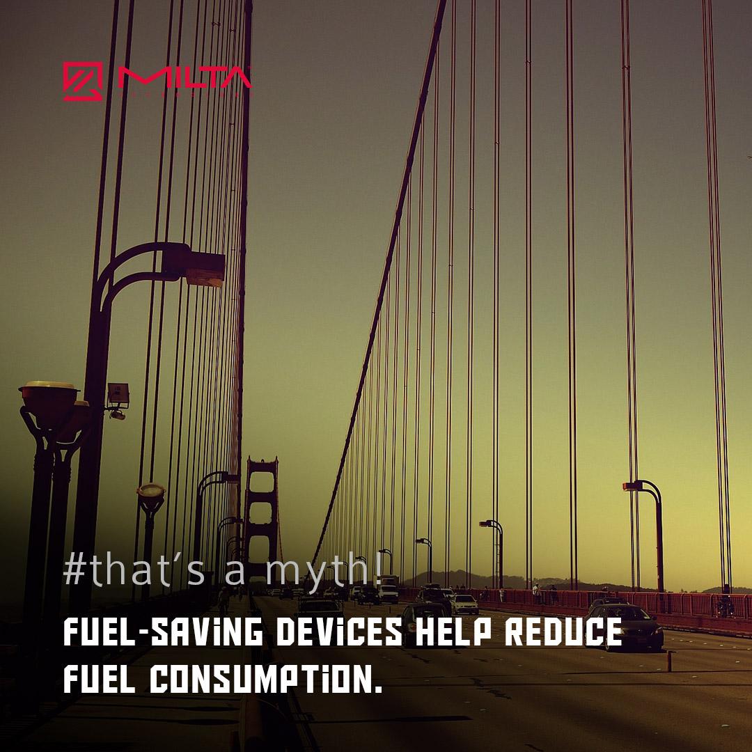 Fuel-Saving Devices Help Reduce Fuel Consumption MILTA Technology