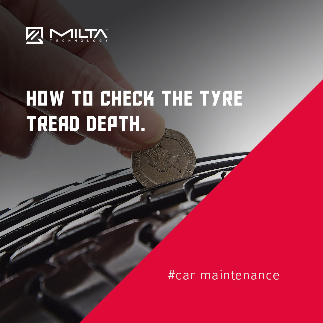 How to check the tyre tread depth MILTA Technology