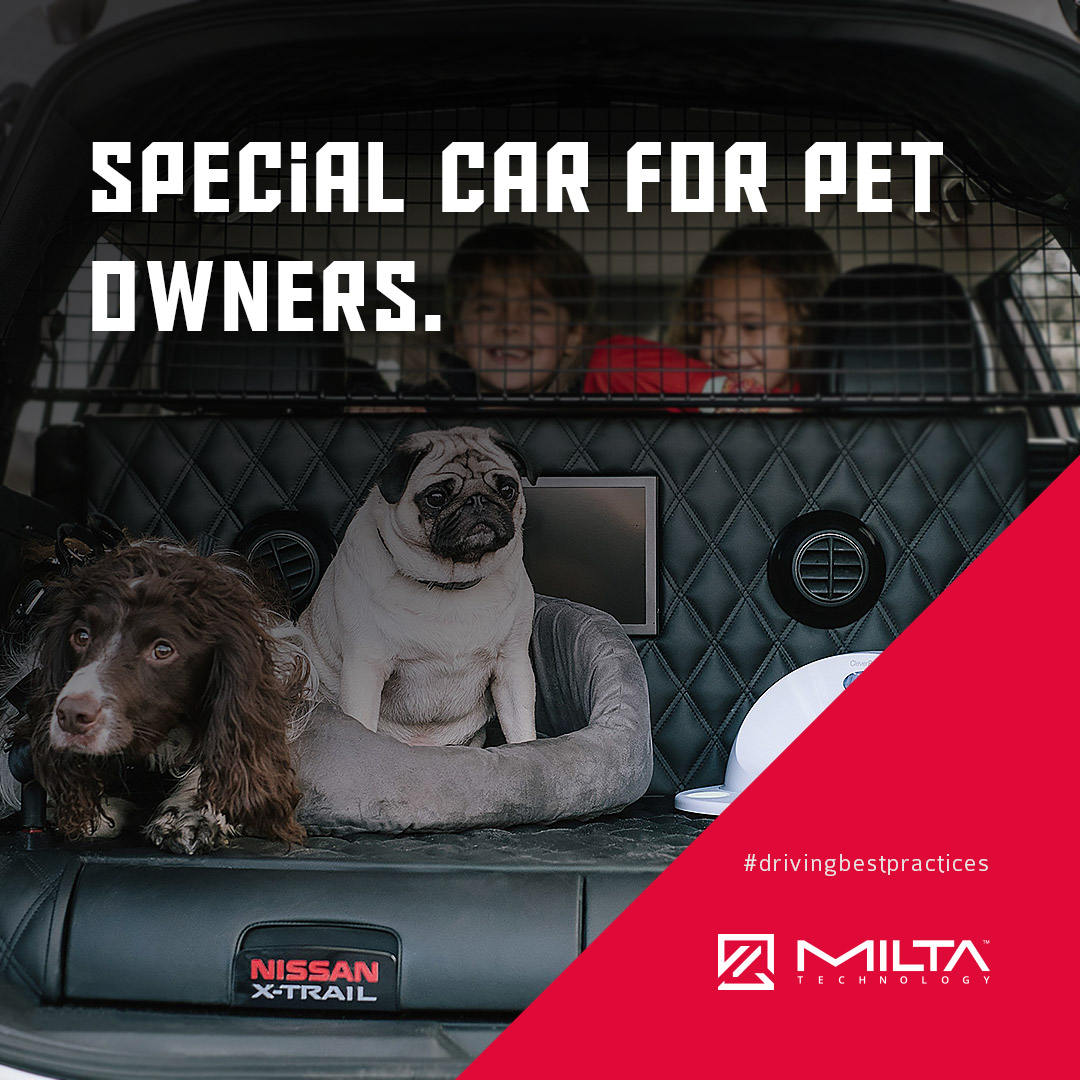 Special car for pet owners MILTA Technology