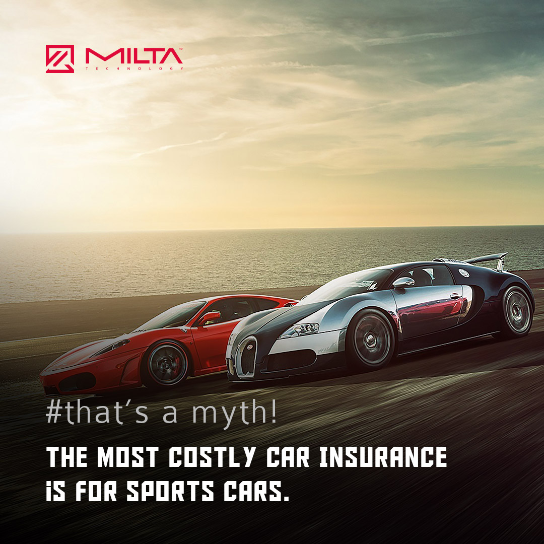 The Most Costly Car Insurance is For Sports Cars MILTA Technology
