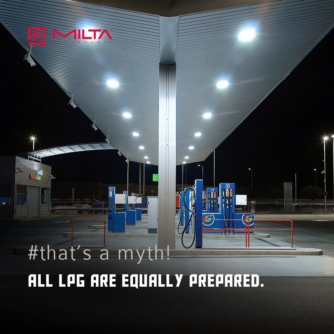 All LPG are equally prepared MILTA Technology