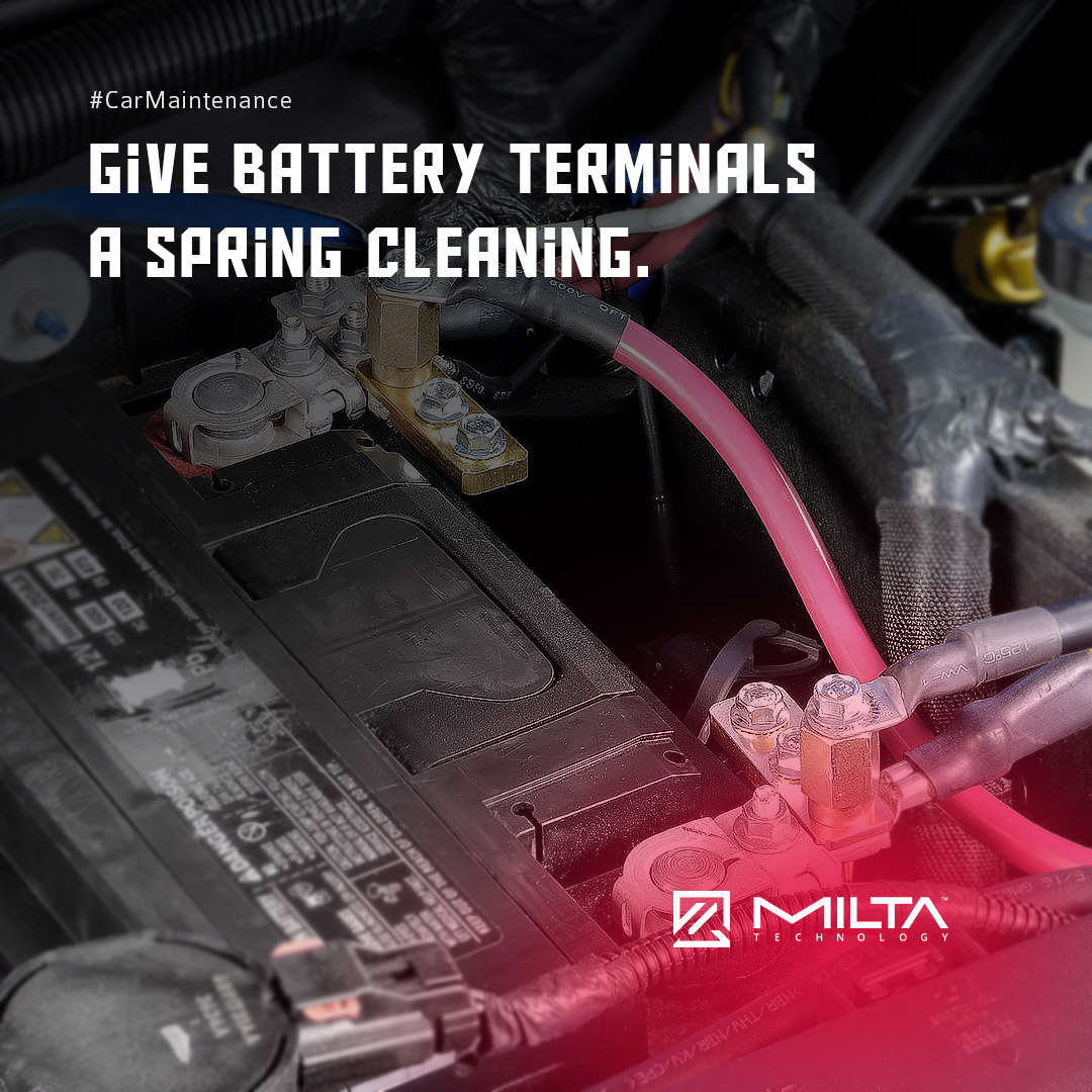 Give Battery Terminals Spring Cleaning MILTA Technology