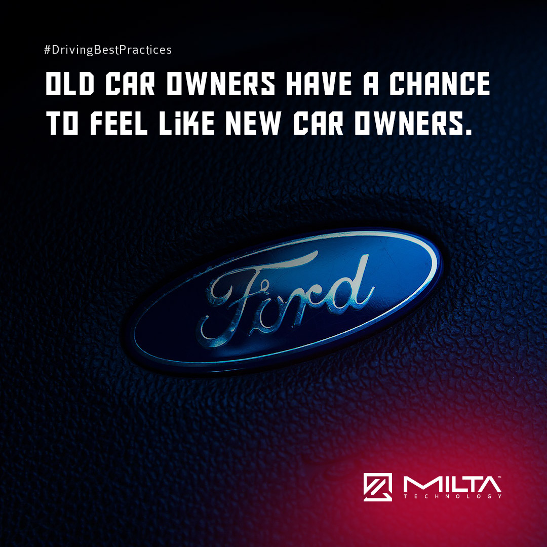 Old Car Owners Have a Chance to Feel Like New Car Owners MILTA Technology