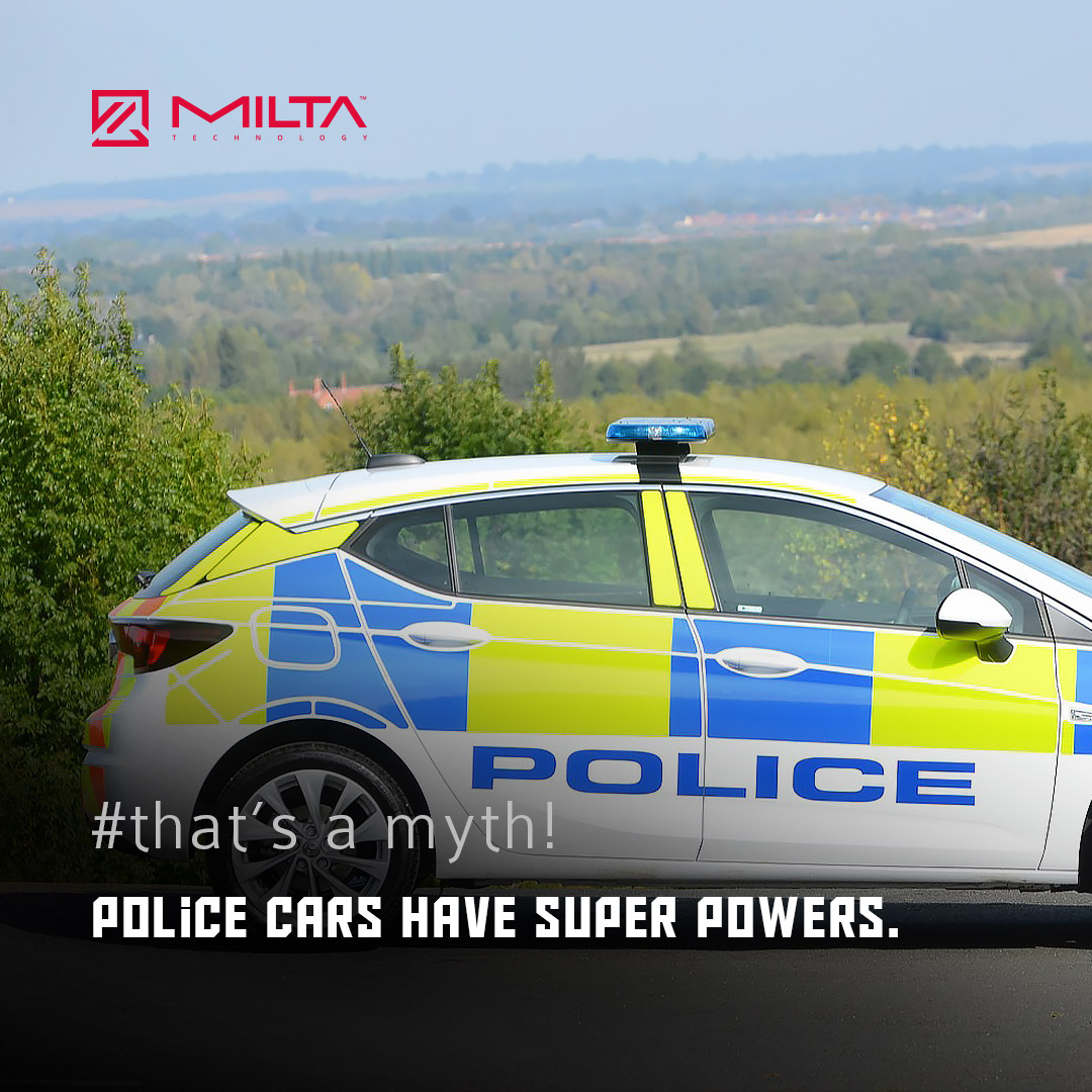 Police Cars have Super Powers MILTA Technology