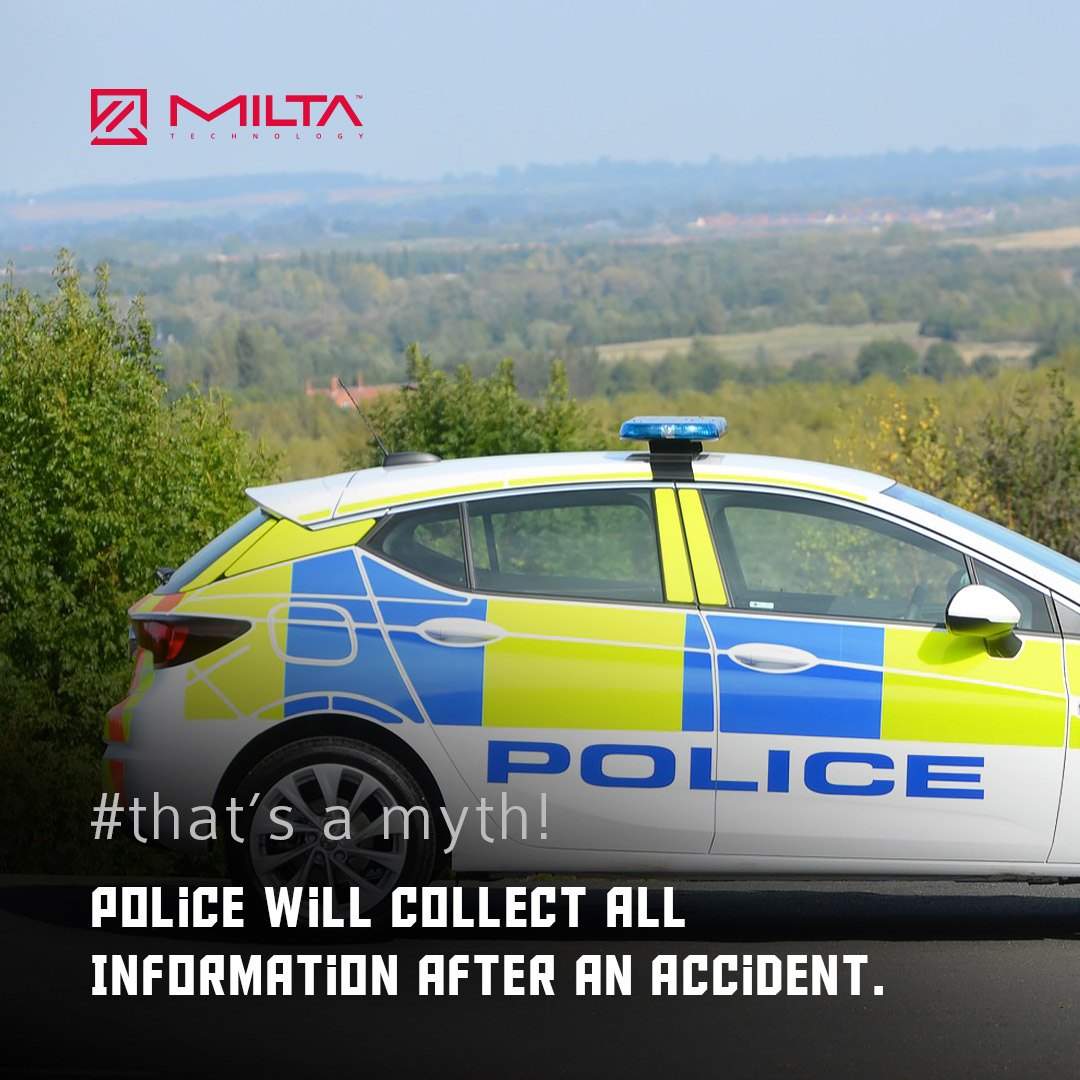 Police will Collect All Information After an Accident MILTA Technology