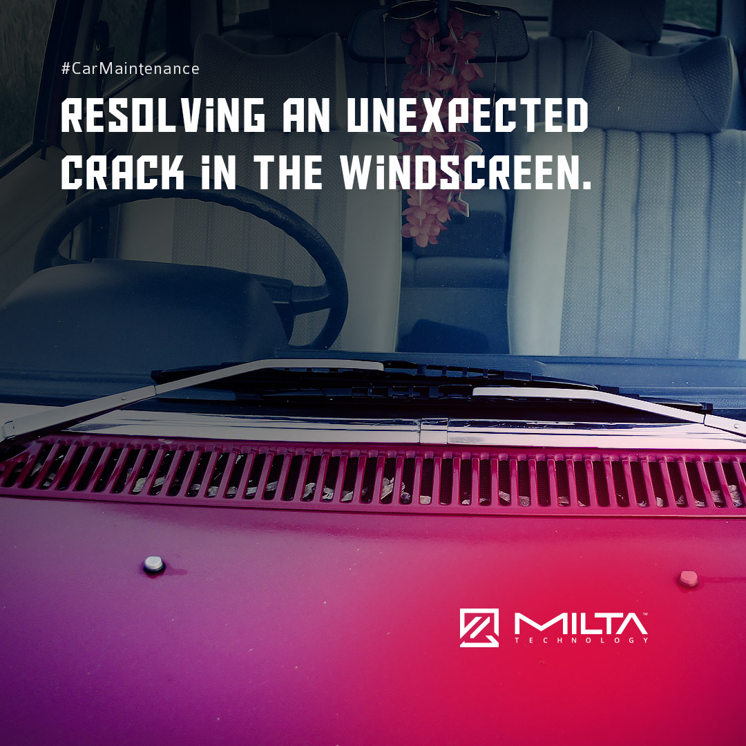 Resolving an Unexpected Crack in the Windscreen MILTA Technology