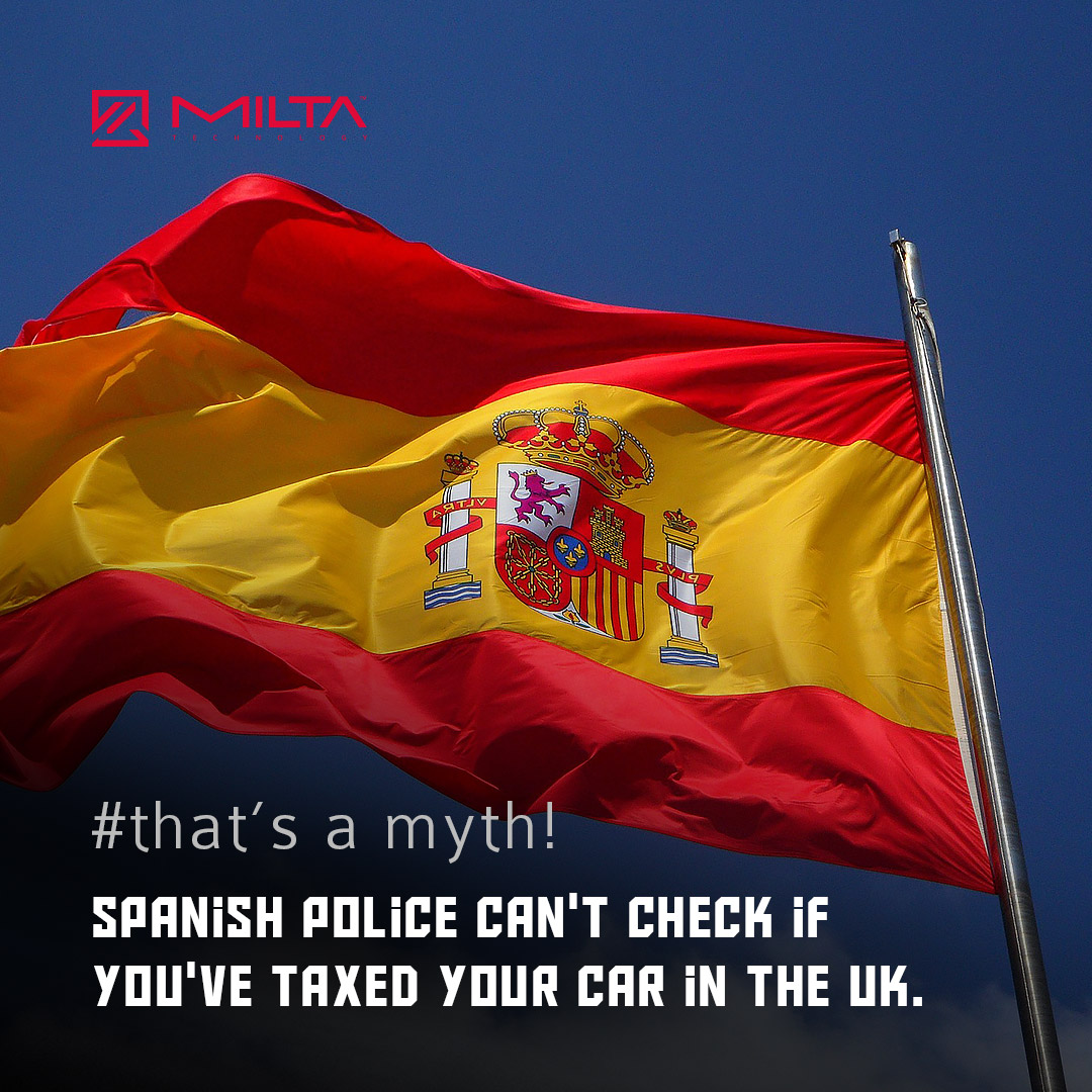 Spanish Police can't check if you've taxed your car in the UK MILTA Technology