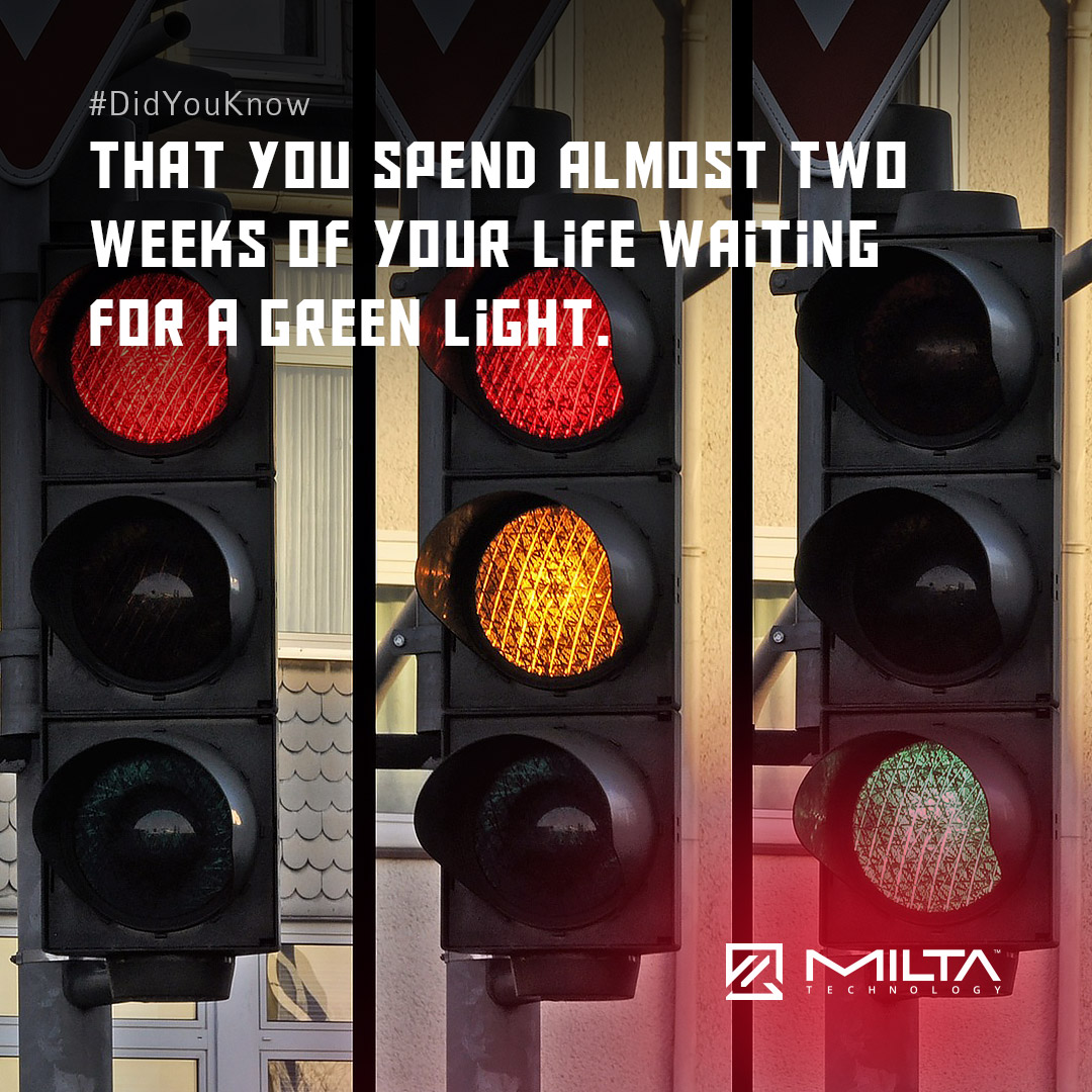 That you spend almost Two Weeks of your life waiting for a green light MILTA Technology