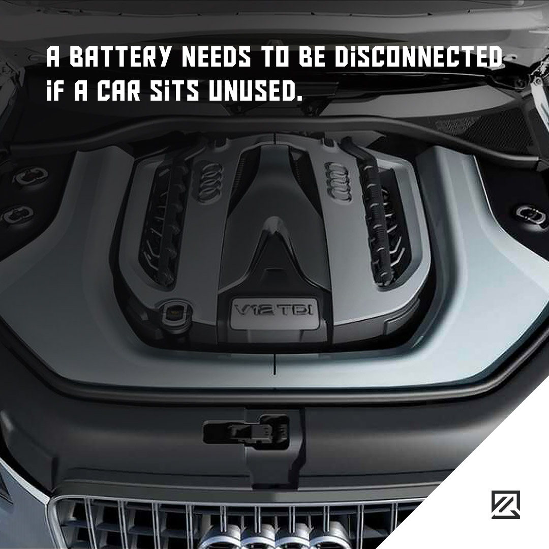 A Battery Needs to Be Disconnected if a Car Sits Unused. MILTA Technology