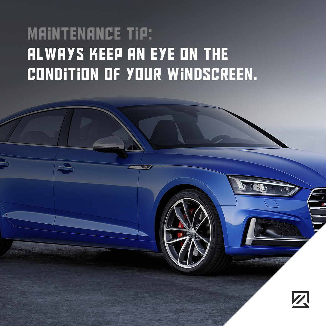 Always keep an eye on the condition of your windscreen MILTA Technology