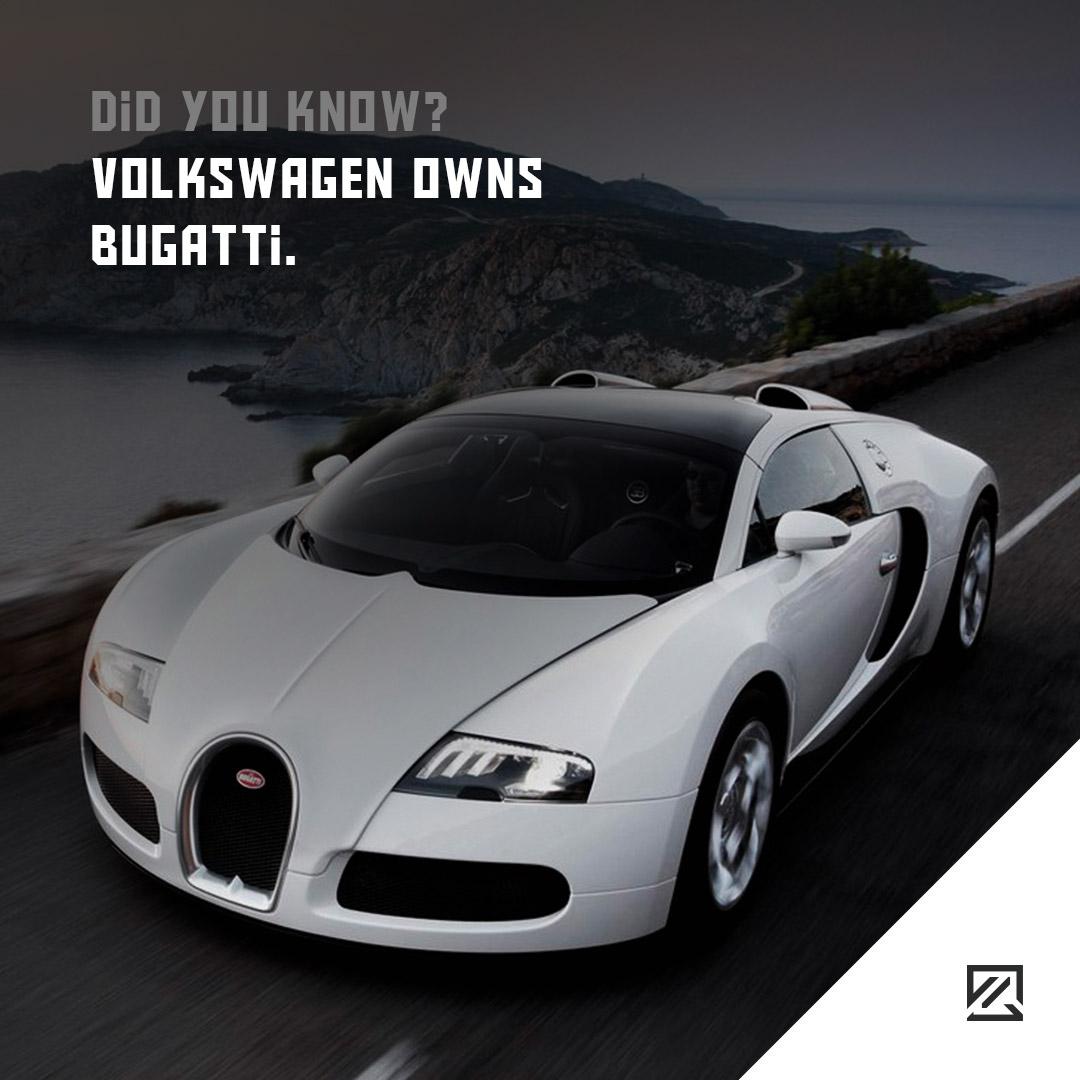 Volkswagen owns Bugatti MILTA Technology