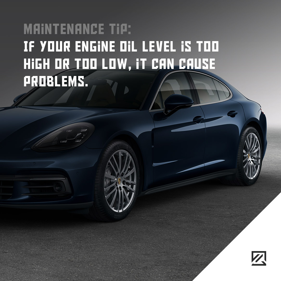 If your engine oil level is too high or too low, it can cause problems MILTA Technology