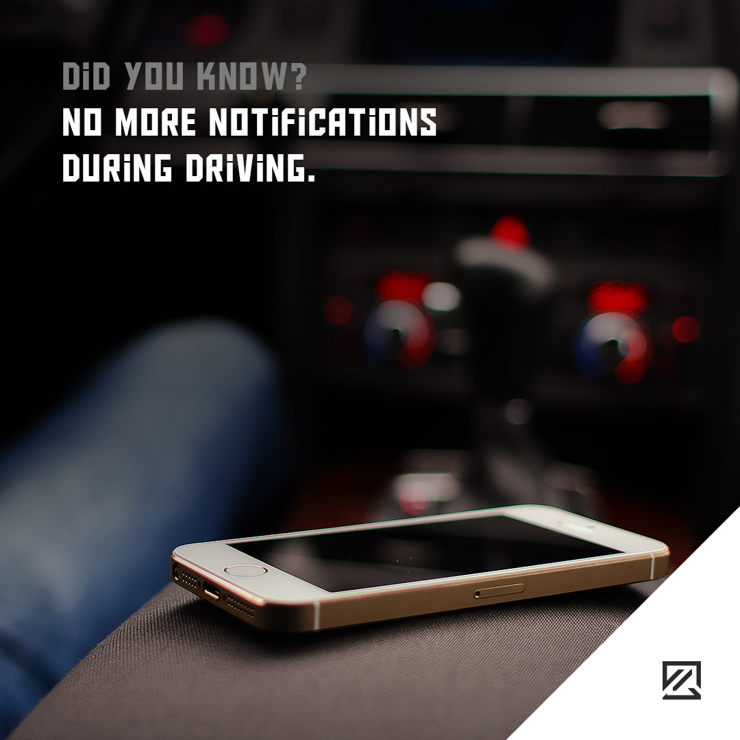 No more notifications during driving MILTA Technology