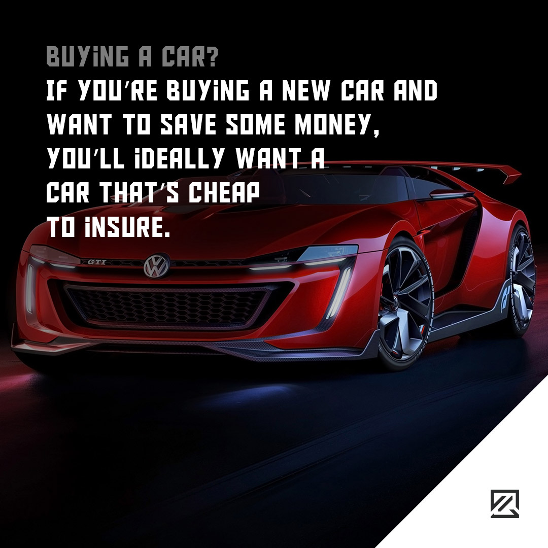 If you're buying a new car and want to save some money, you'll ideally want a car that's cheap to insure MILTA Technology