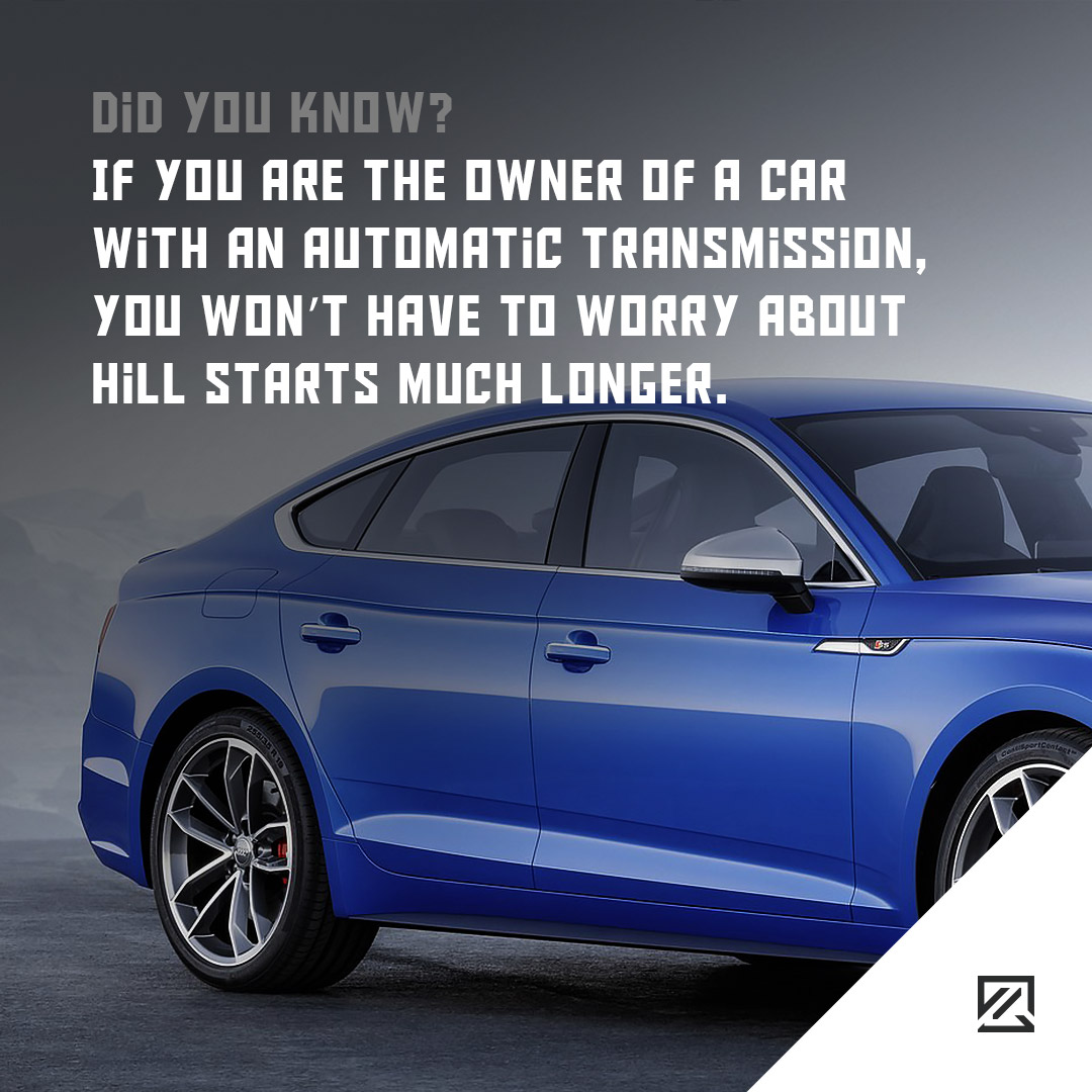 If you are the owner of a car with an automatic transmission, you won't have to worry about hill starts much longer. MILTA Technology
