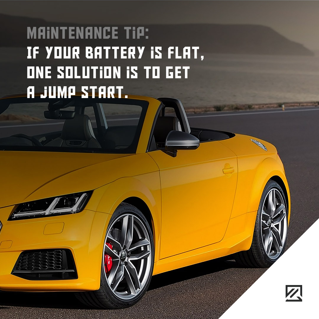 If your battery is flat, one solution is to get a jump start. MILTA Technology