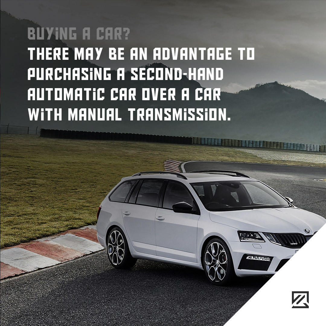 There may be an advantage to purchasing a second-hand automatic car over a car with manual transmission. MILTA Technology