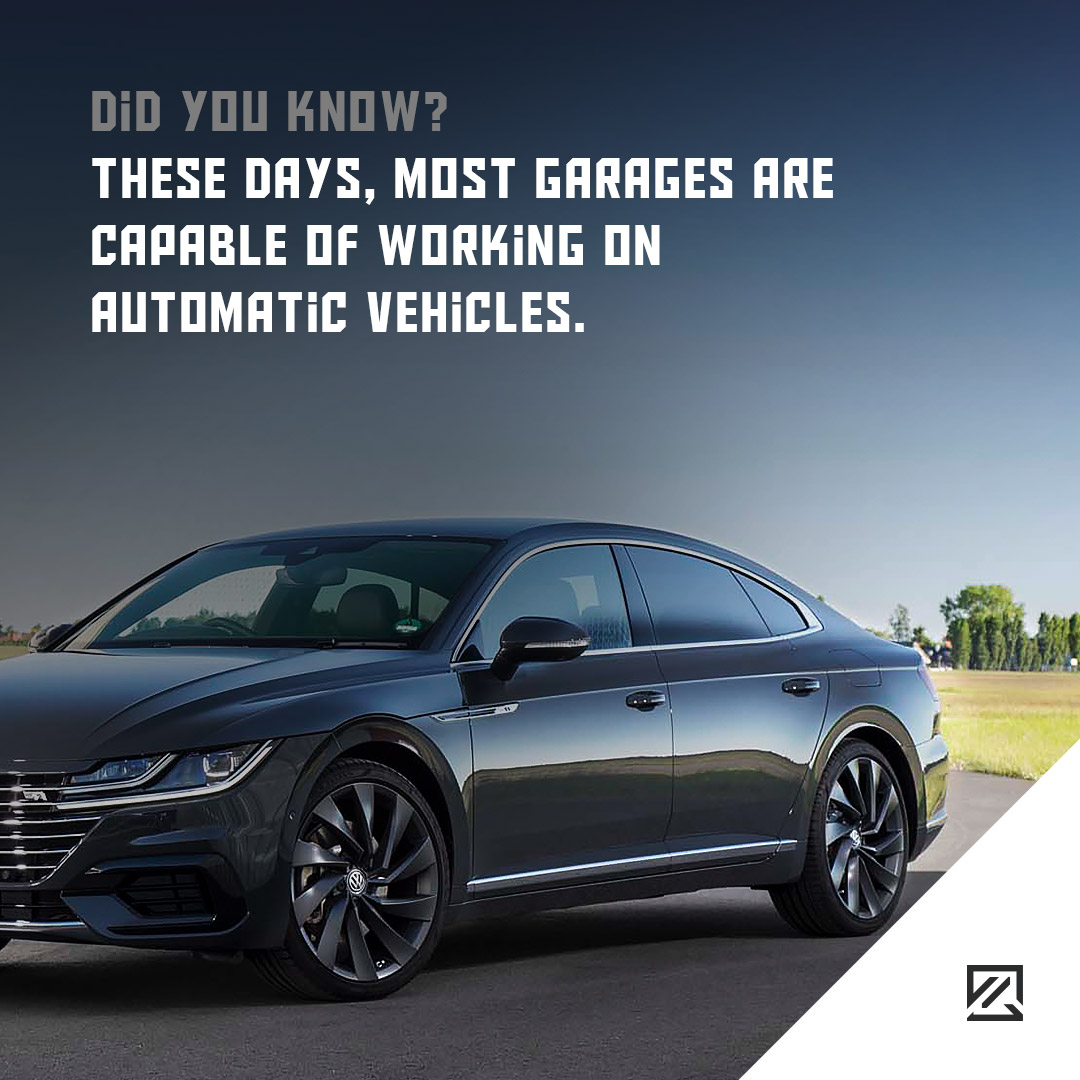 These days, most garages are capable of working on automatic vehicles. MILTA Technology