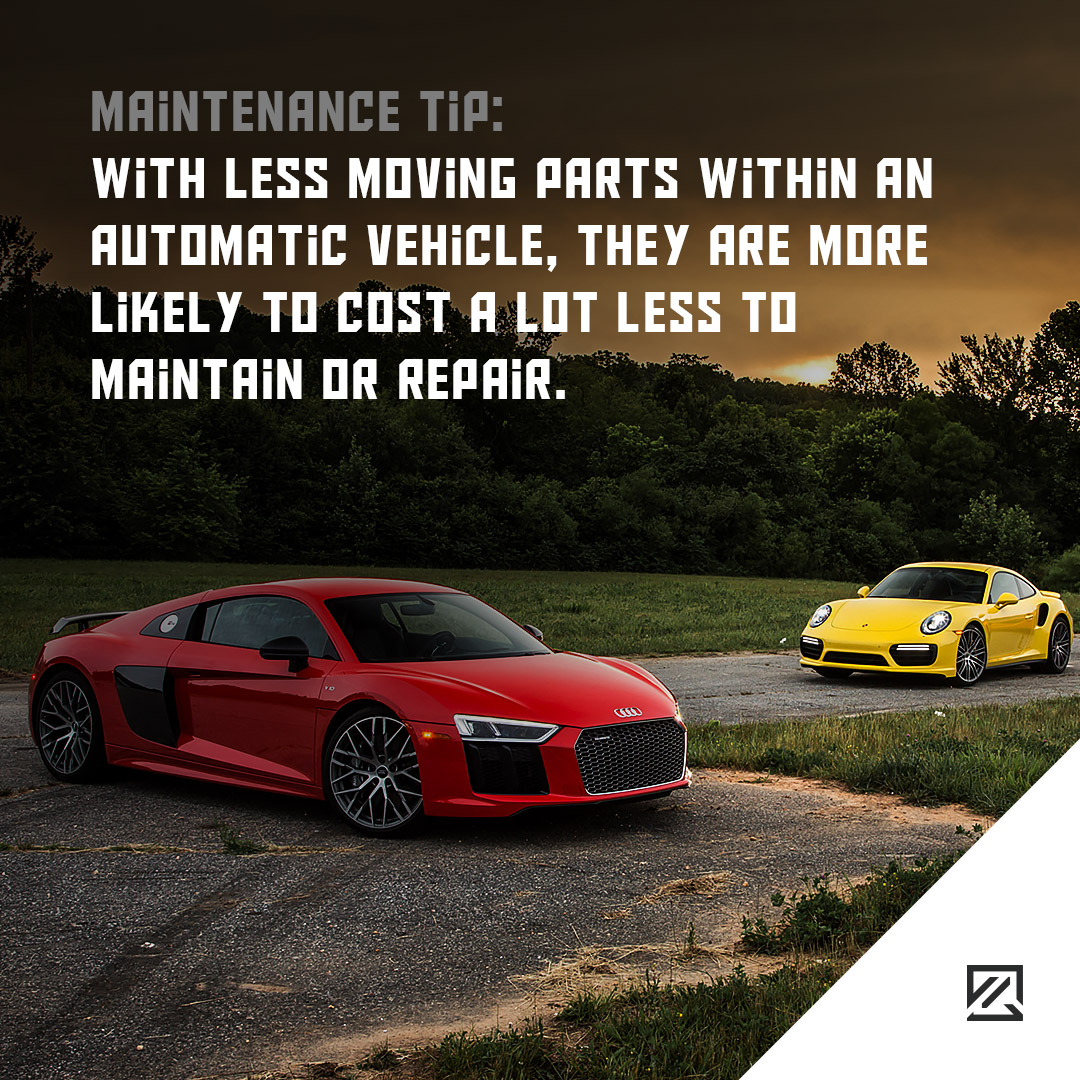 With less moving parts within an automatic vehicle, they are more likely to cost a lot less to maintain or repair. MILTA Technology