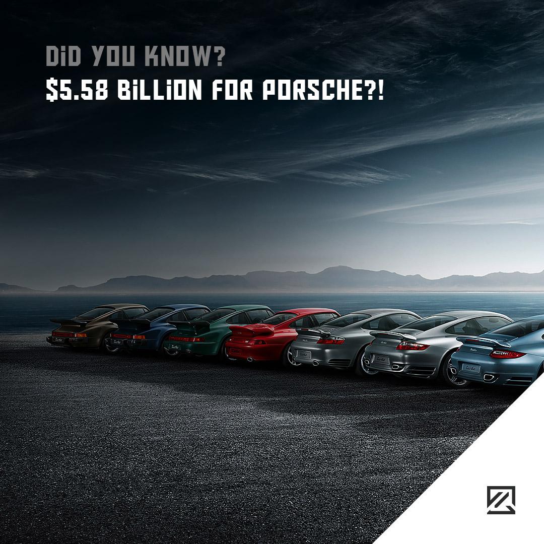 $5.58 Billion for Porsche?! MILTA Technology