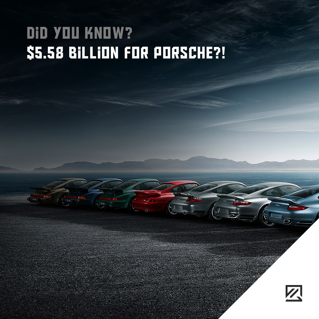 $5.58 Billion for Porsche?! MILTA Technology