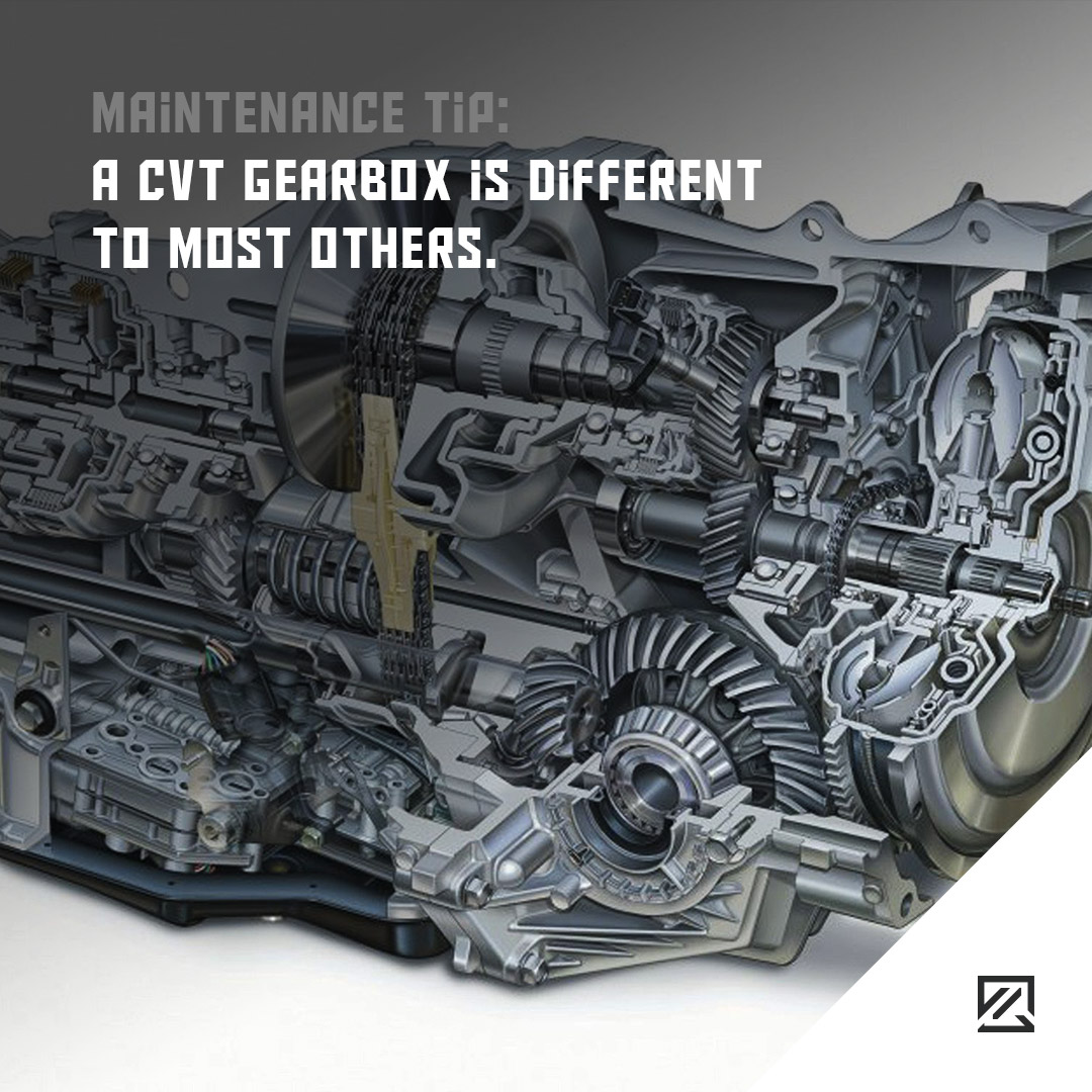 A CVT gearbox is different to most others MILTA Technology