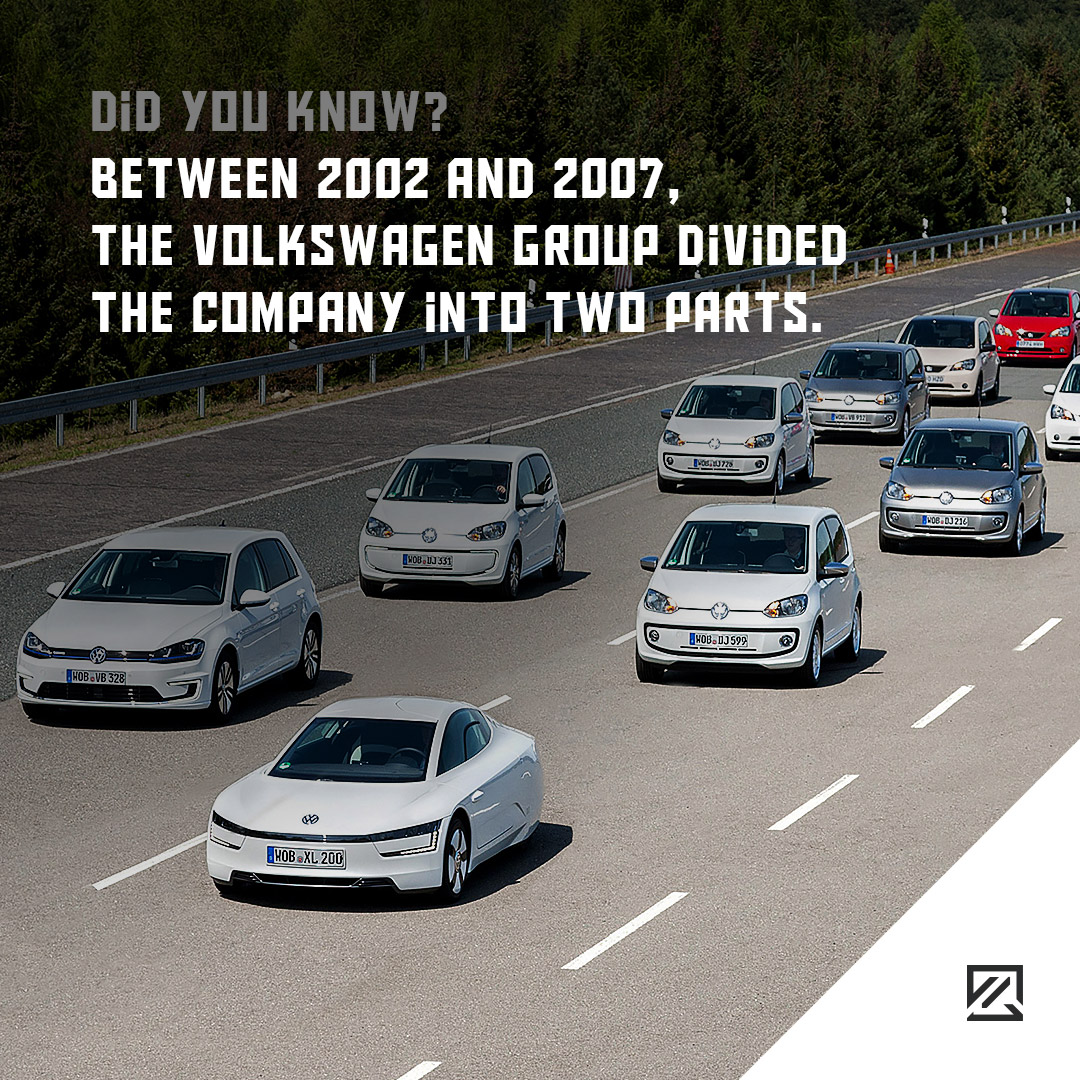 Between 2002 and 2007, the Volkswagen Group divided the company into two parts MILTA Technology