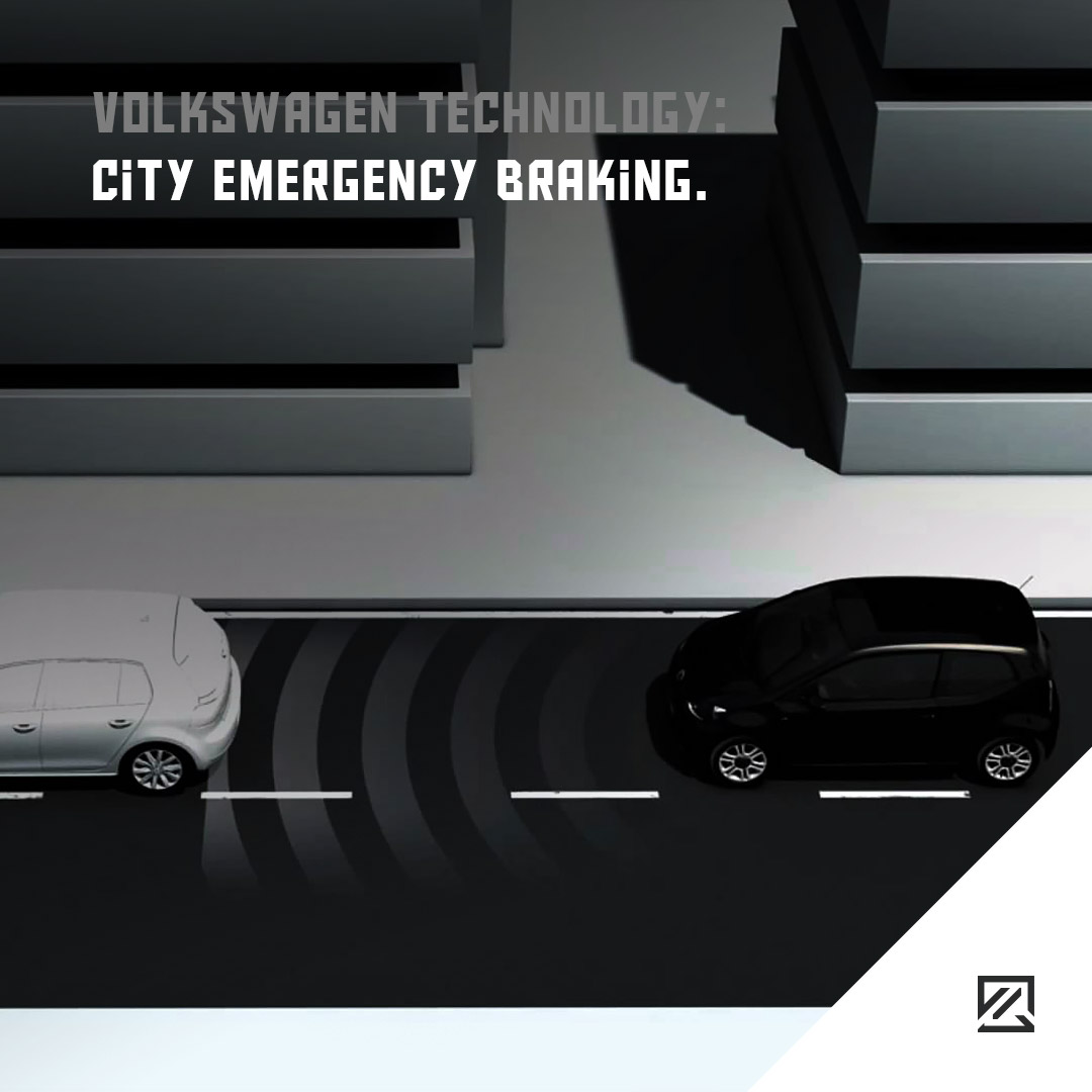 Volkswagen Technology: City Emergency Braking MILTA Technology
