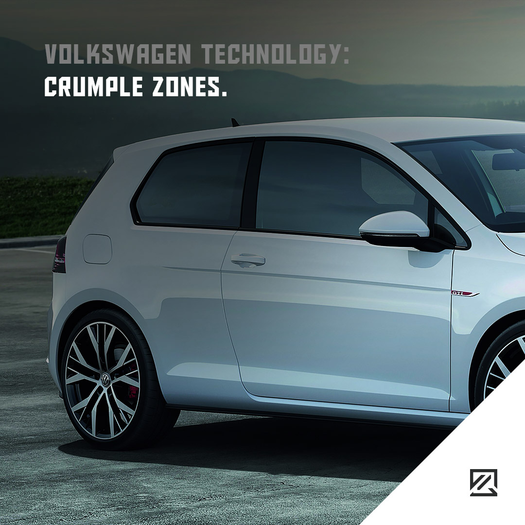 Volkswagen technology: Crumple zones MILTA Technology