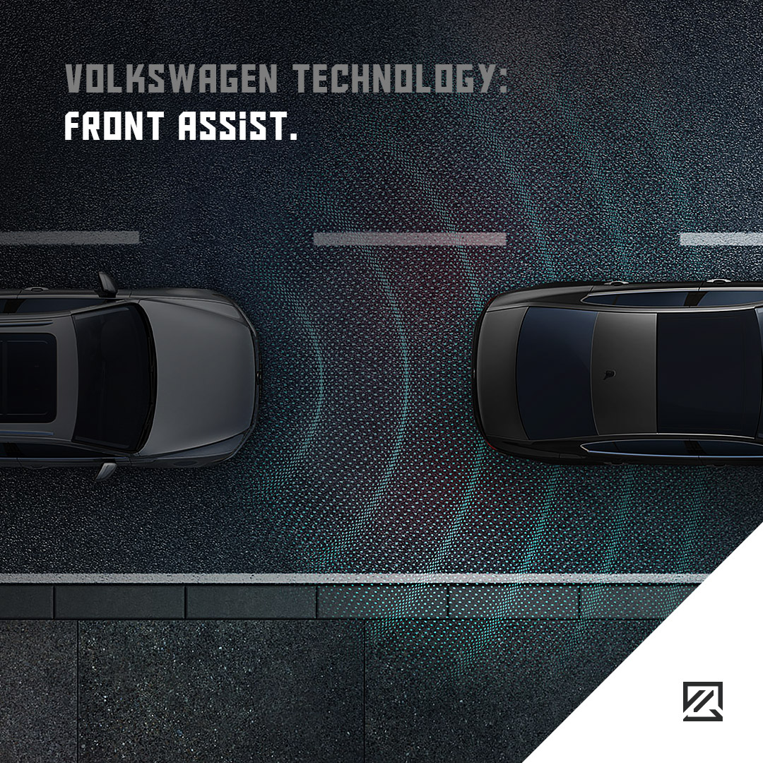 Volkswagen Technology: Front Assist MILTA Technology