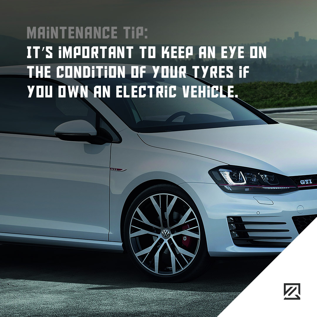 It's important to keep an eye on the condition of your tyres if you own an electric vehicle MILTA Technology