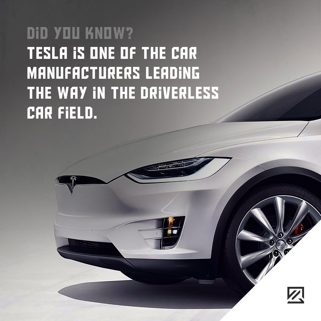 Tesla is one of the car manufacturers leading the way in the driverless car field MILTA Technology