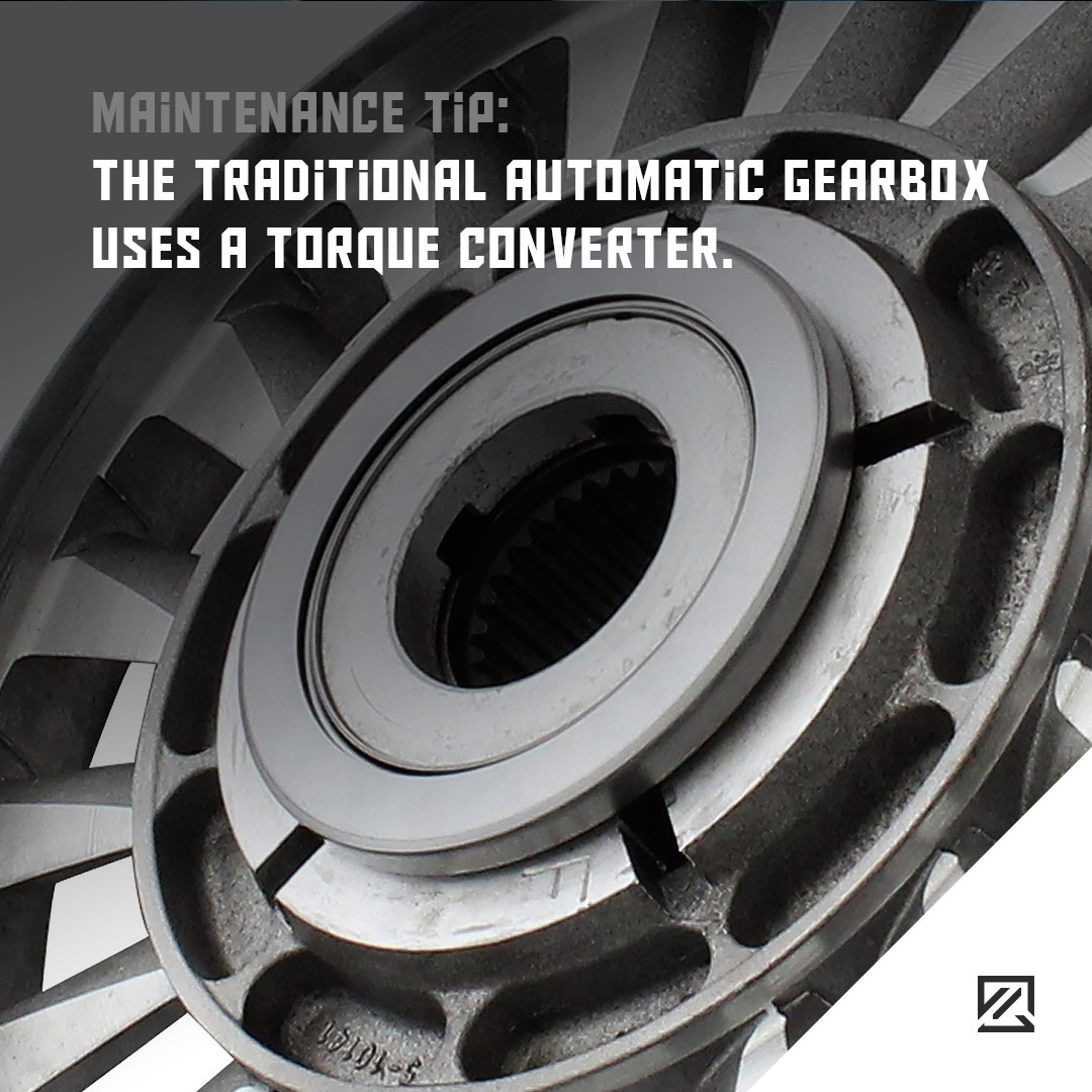 The traditional automatic gearbox uses a torque converter MILTA Technology