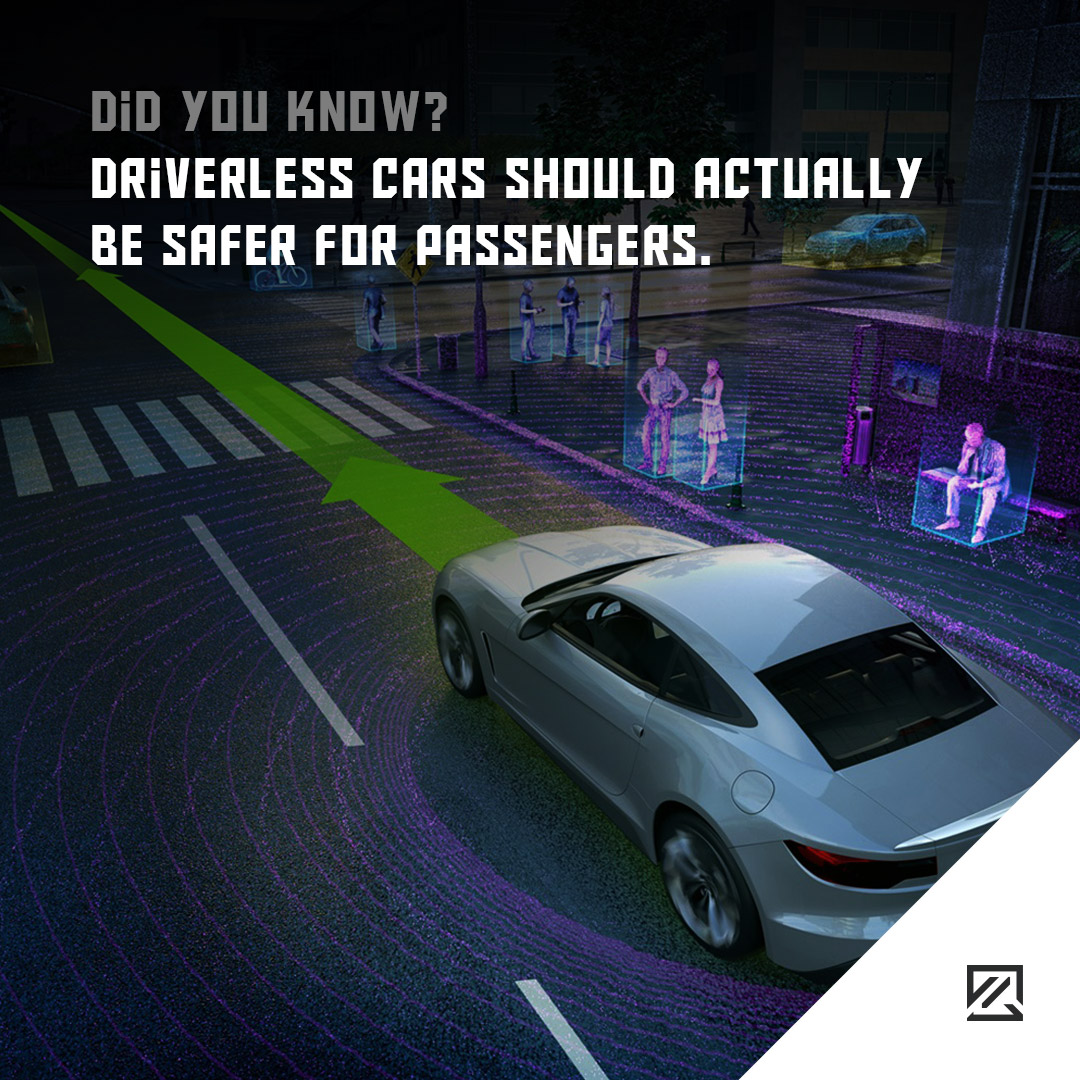 Driverless cars should actually be safer for passengers MILTA Technology