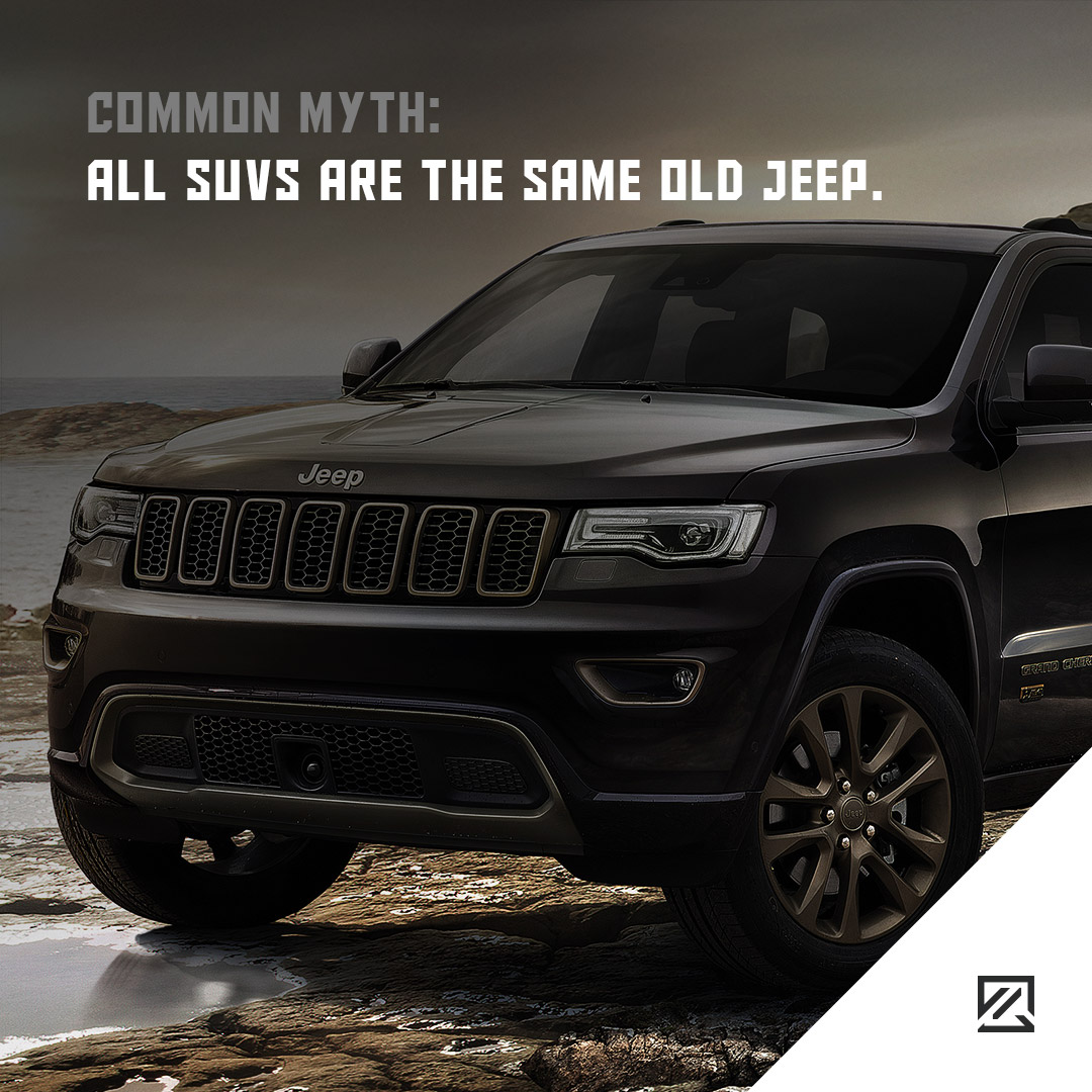 All SUVs Are the Same Old Jeep. MILTA Technology