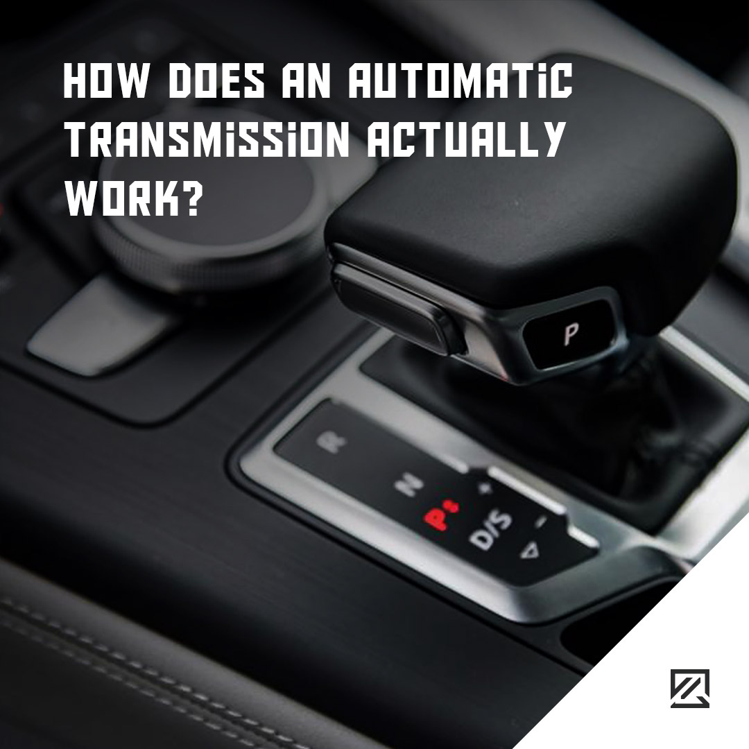 How does an automatic transmission actually work? MILTA Technology