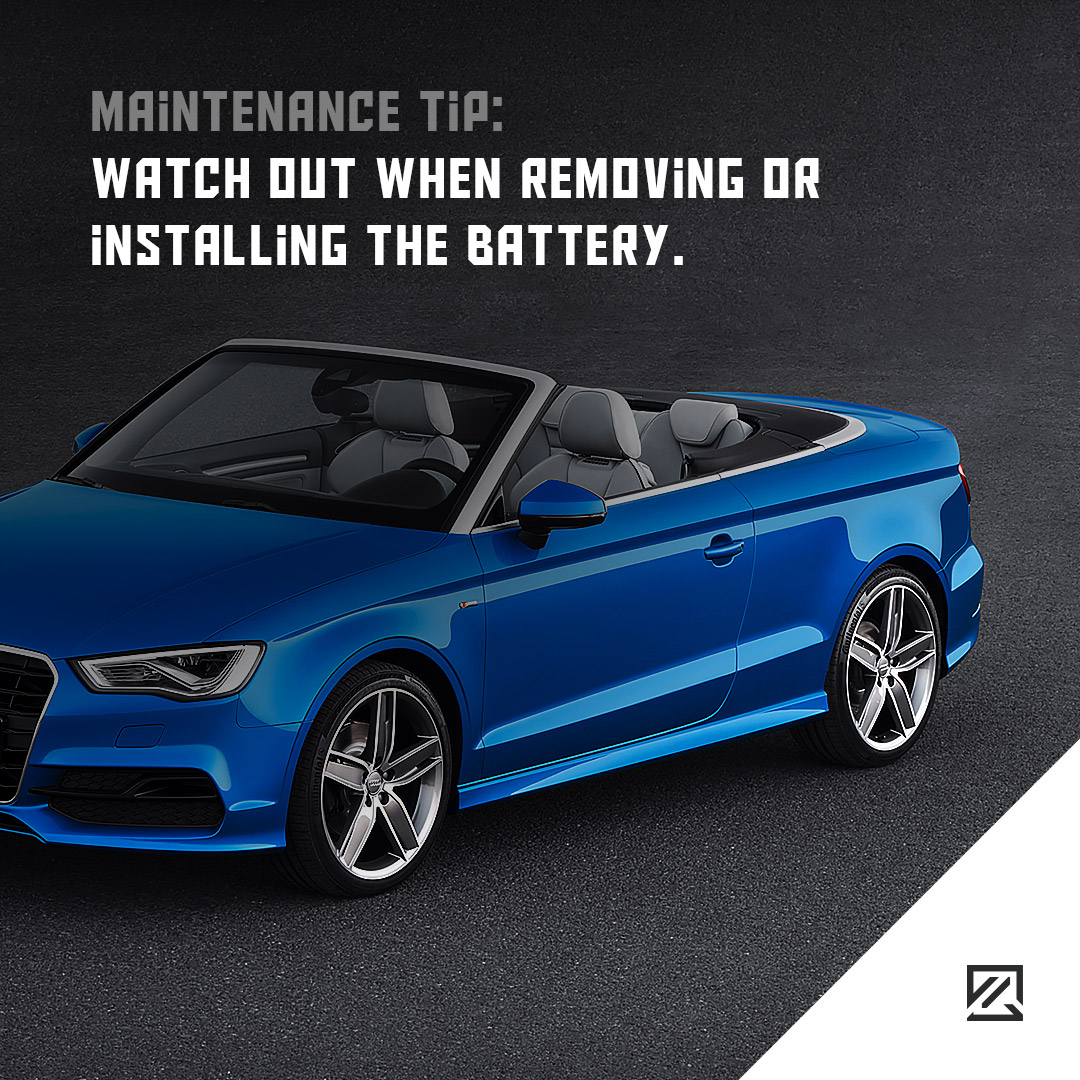 Watch out when removing or installing the battery. MILTA Technology