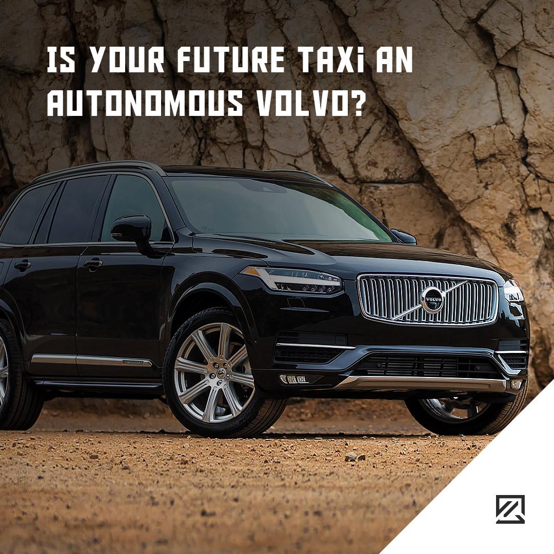 Is Your Future Taxi An Autonomous Volvo? MILTA Technology