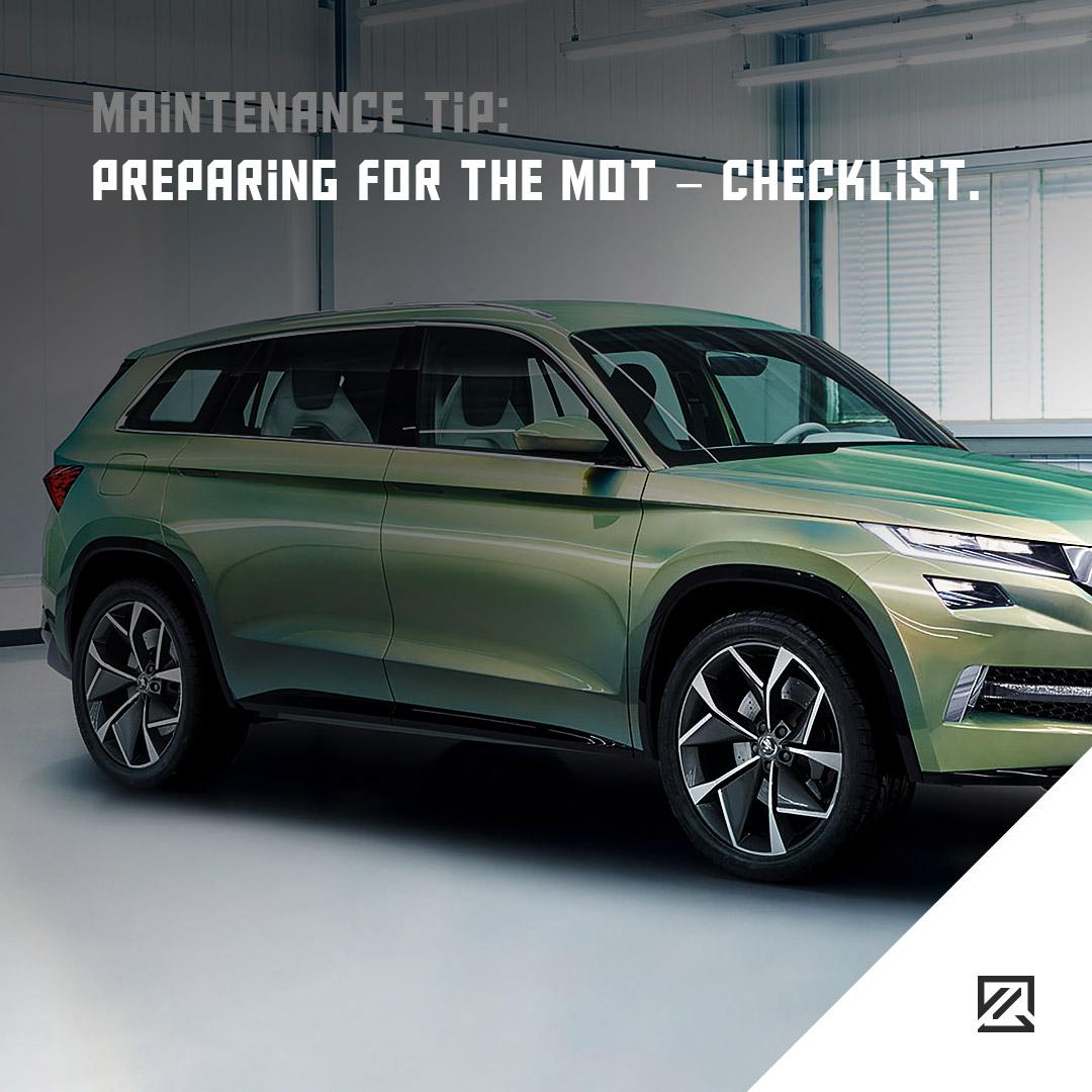 Preparing for the MOT – checklist. MILTA Technology