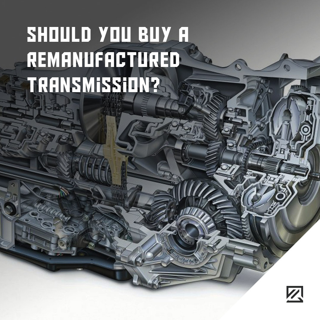 Should you buy a remanufactured transmission? MILTA Technology