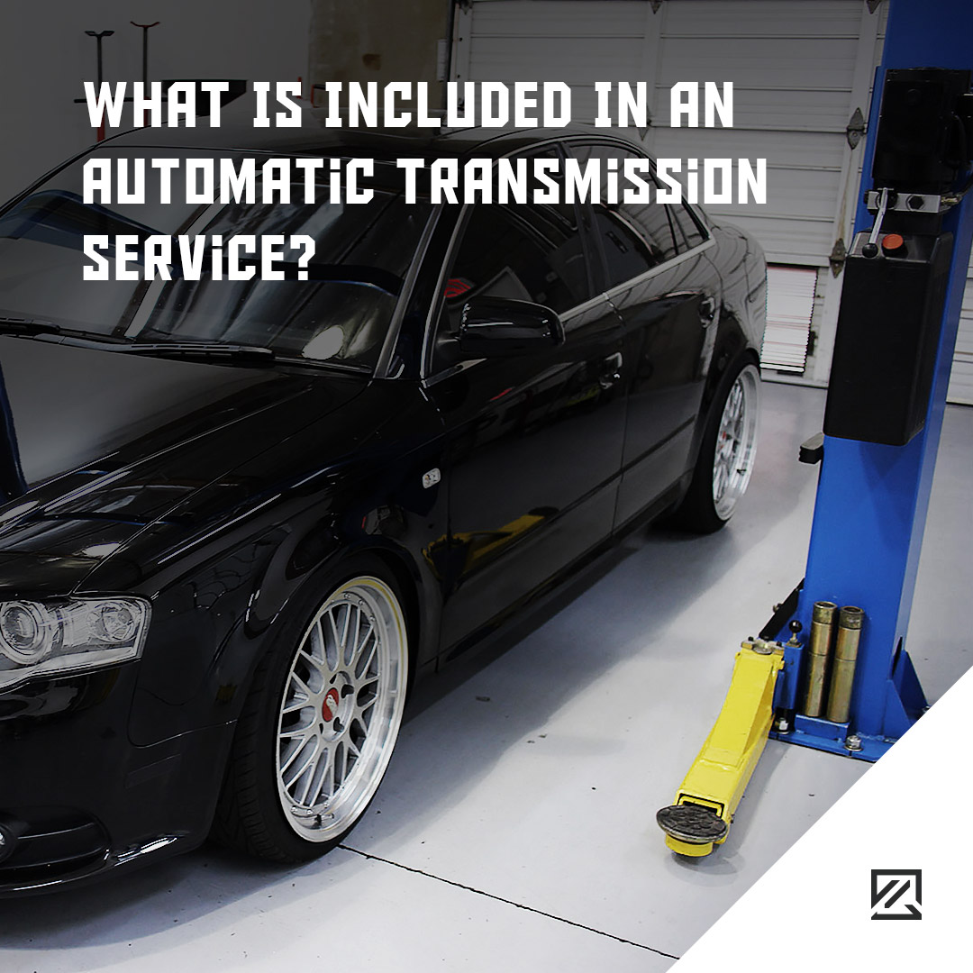 What Is Included In An Automatic Transmission Service? MILTA Technology