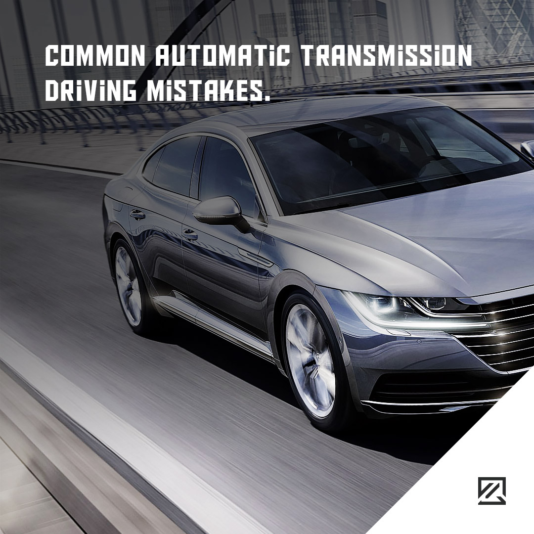 Common Automatic Transmission Driving Mistakes MILTA Technology
