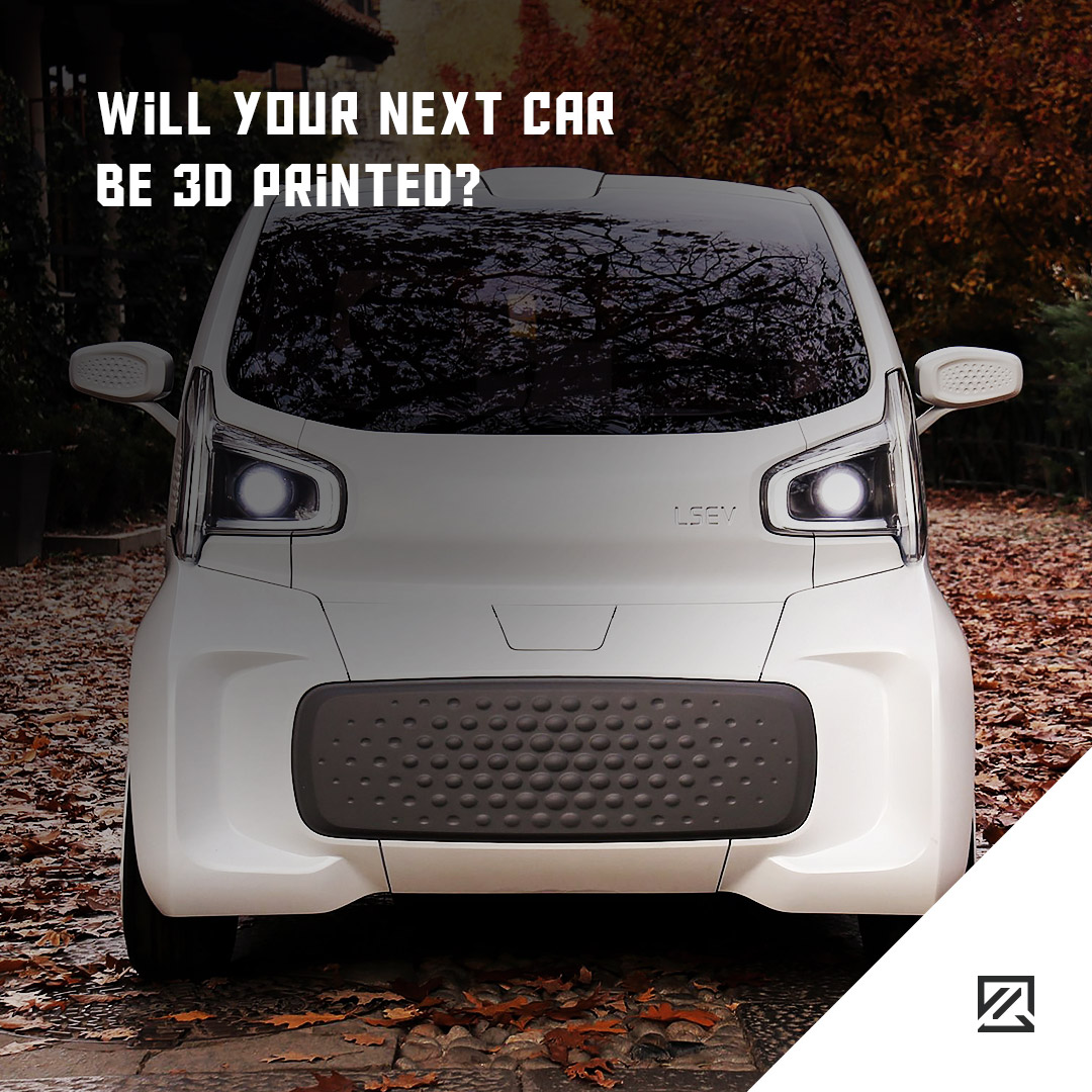 Will Your Next Car Be 3D Printed? MILTA Technology